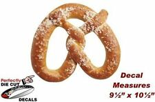 Hot Giant Pretzel Decal for Pretzel Stand, Popcorn Cart or Concession Trailer