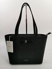 Ted Baker Womens Shopper Bag Tote Leather - Black - Bow Detail - Jjesica - £129