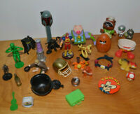 Vintage & Modern Action Figure Minifigure Toy Lot Junk Drawer Star Wars Pokemon