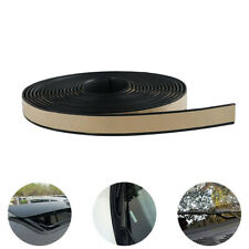 5M Seal Strip Trim For Car Front Rear Windshield Sunroof Weather Strip Rubber