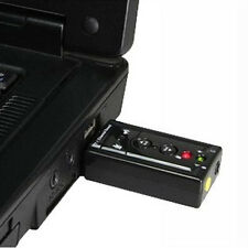 External USB Audio Sound Card Adapter Virtual 7.1USB 2.0 Mic Speaker Converter n