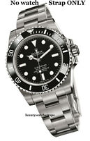 SUPERB STAINLESS STEEL OYSTER BRACELET STRAP FOR ROLEX SUBMARINER 20mm WATCH