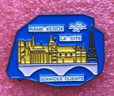 Pins SERVICE CLIENT RANK XEROX LA CITÉ NOTRE DAME DE PARIS Badge Lapel Pin