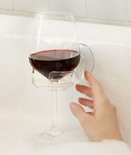 Bath Shower Cupholder Caddy for Beer Wine Suction Cup Drink Holder