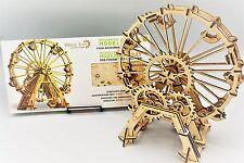 Vintage Grande Roue-woodtrick mécanique 3D en bois modèle