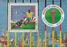 Timbre Sports Football Guinée équatoriale o lot 10130