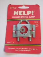 Help 03122 Ford Emissions System Catalytic Converter Air Injection Clamp 79-93