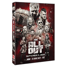 Official AEW All Elite Wrestling - All Out 2020 Event 2 Disc DVD ( Pre-Order )