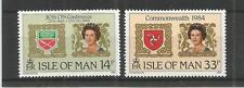 I.O.M 1984 LINKS WITH THE COMMONWEALTH SG,279-280 UM/M N/H LOT R553