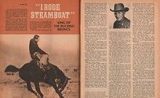 Steamboat and Riders of the Greatest Bronco Rodeo Horse of All Time+Guy Holt*