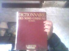 Larousse France Loisirs Dictionnaire des noms communs en couleurs