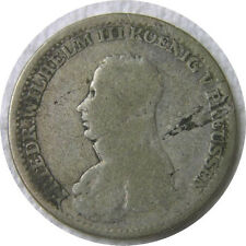 elf Germany Kingdom of Prussia 4 Groschen 1817 A  Silver