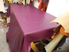 Italian Full Leather Hide Colour Damson, 2059 Super Soft