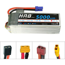 HRB 22.2V 5000mAh 6S RC LiPo Battery 50C 100C for Airplane Heli Plane Truck Car