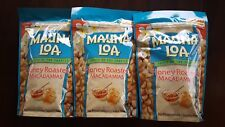 Hawaii Mauna Loa Honey Roasted Macadamia Nuts - 3 Bags (10 oz per bag)