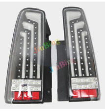 For Suzuki JIMNY JB43 Black Clear LED Turn Signal Brake Lamp Tail Lights 1Pair s
