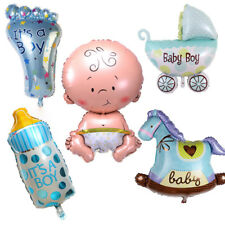5 Pcs Its A Boy Baby Shower Celebrations Foil Balloons Birthday PartyDecoration