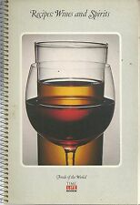 Time Life Foods of the World Recipes: Wines and Spirits Paperback 1968