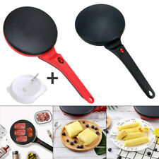 600W Electric Crepe Maker Non Stick Baking Pancake Pan Frying Griddle Machine