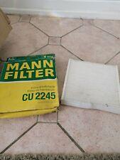 MANN CABIN / POLLEN AIR FILTER CU 2245 CITROEN BERLINGO
