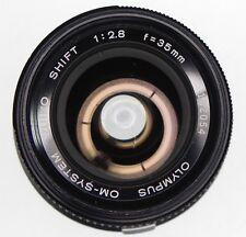 Olympus OM 35mm f2.8 Shift    #102054