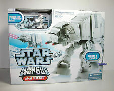 Galactic Heroes STAR WARS AT-AT WALKER / Speeder Bike & AT-AT Driver Figure NEW