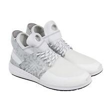 Supra Skytop V para hombre blanco zapatos atléticos de entrenamiento con cordones textil