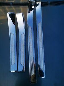 BMW E38 Chrome door sills Highline RARE