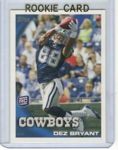 DEZ BRYANT 2010 TOPPS MINT RC ROOKIE CARD DALLAS COWBOYS