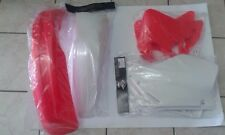 KIT PLASTICHE HONDA CR 125 1995 1996 1997 95 96 97 KIT 4 PZ COLORE COME FOTO