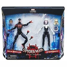Marvel Legends Into The Spiderverse Miles Morales & Spider Gwen 2 Pack NEW