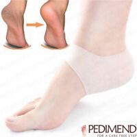 Silicone Gel Heel Pain Relief Moisturizing Protector - For Cracked / Rough Heels