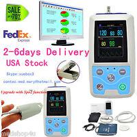 2017 Newest Portable Vital Sign Patient Monitor, NIBP+SPO2+PR, CONTEC USA Seller