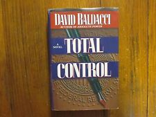 DAVID BALDACCI   Best-Seller Signed Book(TOTAL CONTROL- 1997 1st Edit. Hardback)
