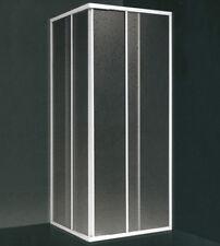 Box doccia angolare,  misura cm.90x90 (riducibile da cm.78 a cm.88), scorrevole