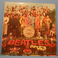 BEATLES SGT. PEPPERS LONELY HEARTS 1969 UK INSERT GREAT CONDITION! VG++/VG+!!B