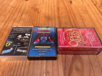3x Musicals Songs Album Cassette Tapes (4 in Total)