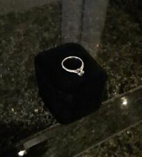 Engagement White Gold Natural SI1 Fine Diamond Rings