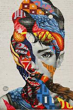 BEAUTIFUL GRAFFITI STREET ART CANVAS PICTURE #11 URBAN POP ART ABSTRACT FREE P&P