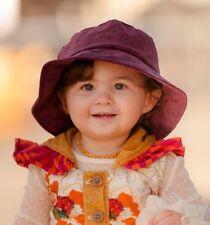 Persnickety Purple Roll Brim Hat Girls Small NWT!