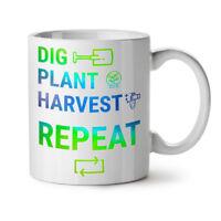 Farmer Life Work NEW White Tea Coffee Mug 11 oz | Wellcoda