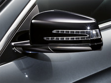 Mercedes-Benz Sport Aussenspiegelgehäuse in schwarz Hochglanz - Nachrüstsatz