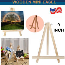 Small Artist Wooden Sketch Easel Tabletop Display Painting Stand Wedding 9 Inch
