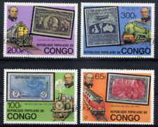 CONGO 1979 TRAINS - ROWLAND HILL SET OF FOUR COMPLETE!
