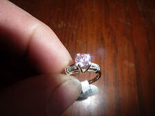 Zirconia Ring Sterling Silver Cubic