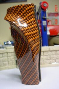 70 - 74 Dodge Plymouth MoPar Pistol Grip Hydrodipped Orange Shifter Grips