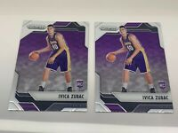 2016-17 Panini Prizm Ivica Zubac #136 Rookie Los Angeles Lakers LOT x 2 ship PWE