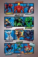 MARVEL COMIC BOOK ~ CLASSIC SOUND EFFECTS ~ 24x36 ART POSTER ~ NEW/ROLLED!