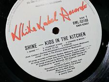 Kid's in the Kitchen - Shine - 80's pop vintage vinyl record R60