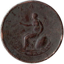 More details for 1799 large half penny of george iii.  - nice collectible coin    #8